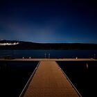 The long white Cloud.....Lake Annecy by Imi Koetz