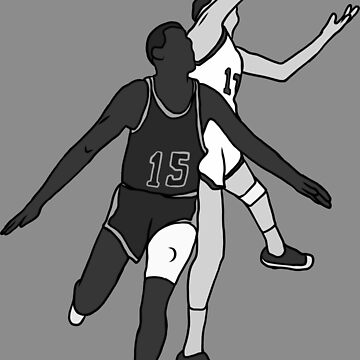 Havlicek Stole The Ball! (Black And White) by RatTrapTees