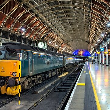Night Riviera at London Paddington  by hawkie