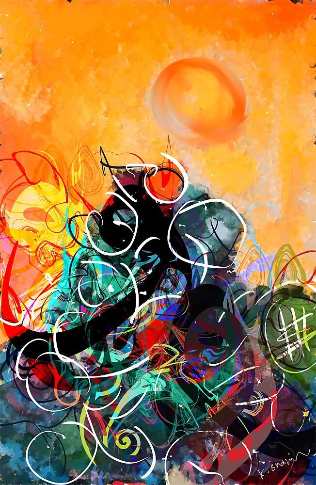 Scratch by Khalid  Shahin