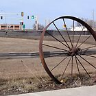 Wagon Wheel by Kathleen Brant