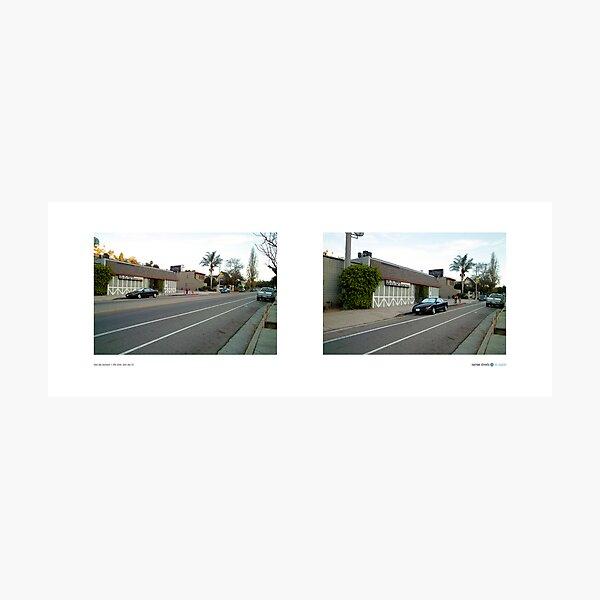 Silver Lake Boulevard + Effie Street, Silver Lake (II), California, USA...narrowed. Photographic Print