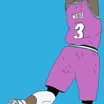 Dwyane Wade Pink Miami Vice by RatTrapTees