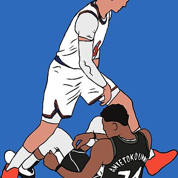 Mario Hezonja Steps Over Giannis Antetokounmpo by RatTrapTees