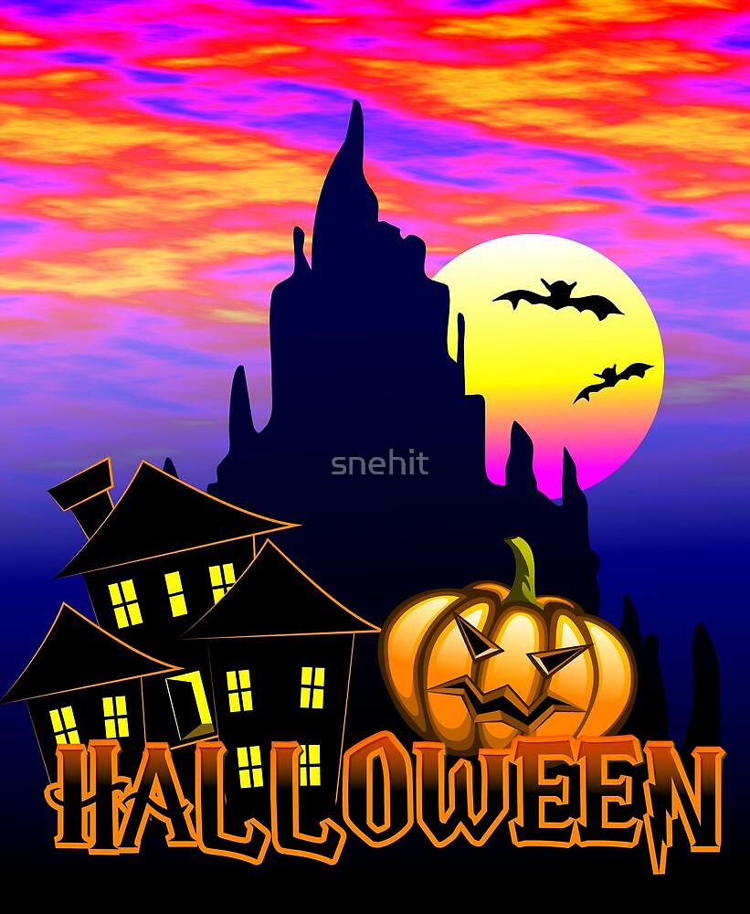 Halloween poster by snehit