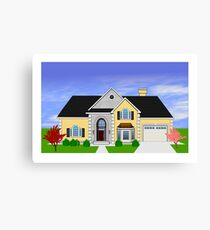Home rendering Canvas Print