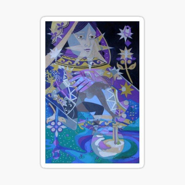 The Lunar Queen Sticker