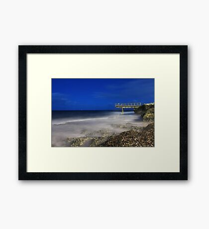 North Beach Jetty - Western Australia  Framed Print