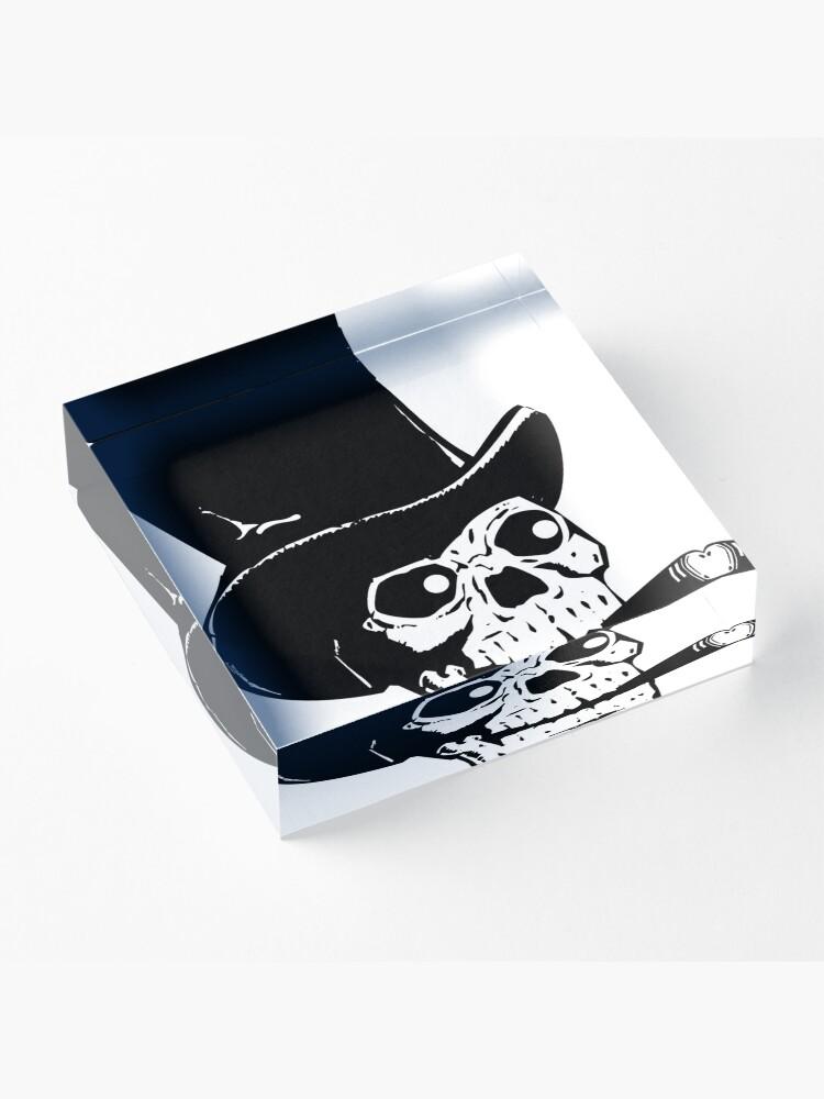 Alternative Ansicht von Skull - Day of the Dead Acrylblock
