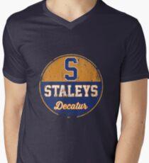 Decatur Staleys T-Shirt mit V-Ausschnitt