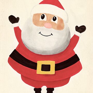 Smiling Santa by melbournedesign