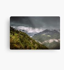 Storm in the Dolomites Metal Print