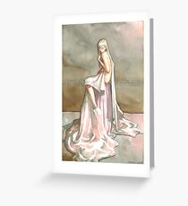 Chain of Flower Greeting Card