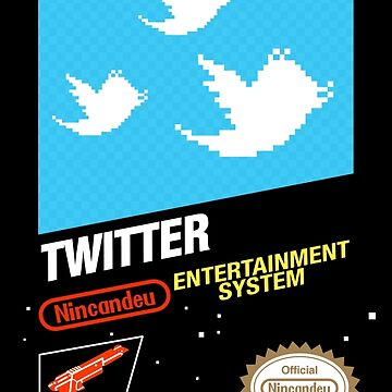NES Twitter by CanDeuCrafts