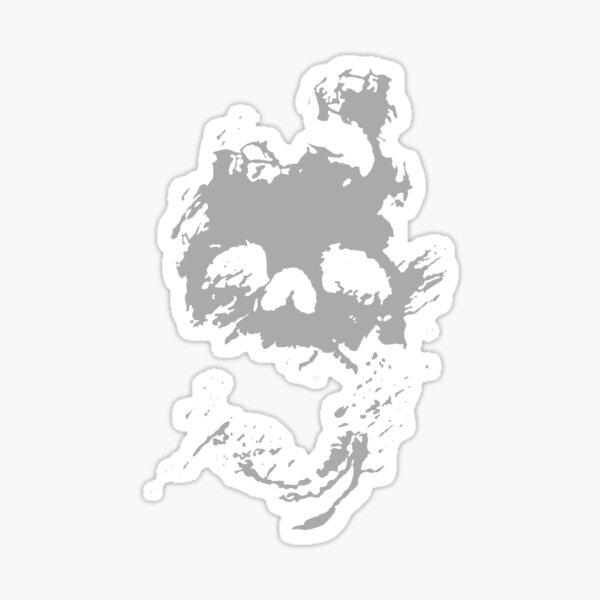 Fading Light Death Skull Sticker
