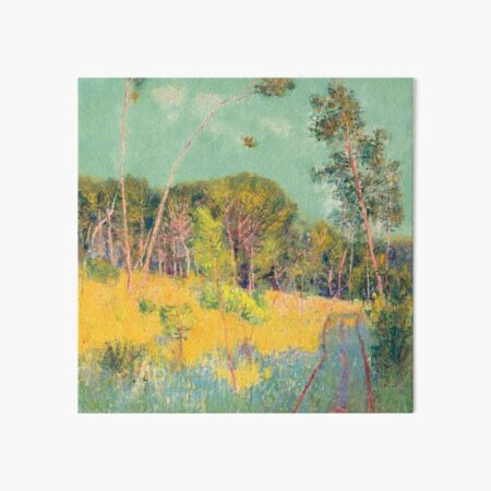 A clearing in the forest - John Peter Russell Art Board Print