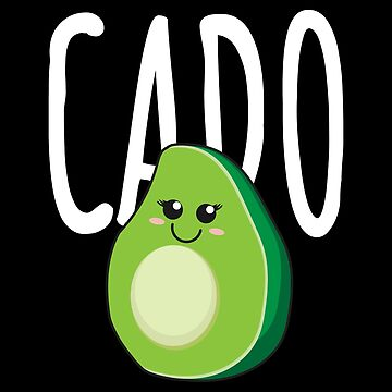 Avocado Cado Partner Couples Friends - Gift Idea by vicoli-shirts