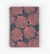 Cuaderno de espiral Abanico de coral vivo