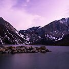 Dusk at Convict Lake by Justin Mair