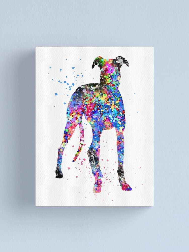 whippet art print,whippet watercolour,whippet wall art,whippet home decor