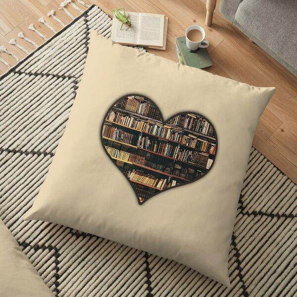 LOVE BOOKS Floor Pillow