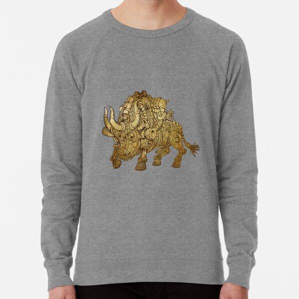 golden mechanical bull Lightweight Sweatshirt