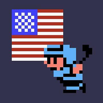 Hockey Player - USA by Deezer509