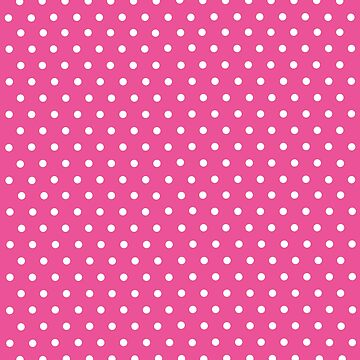 Polka dot Pink and White by DeLaFont
