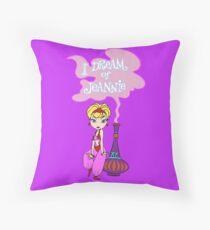I dream of Jeannie Throw Pillow