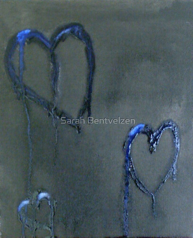 Lonely Blue Hearts by Sarah Bentvelzen