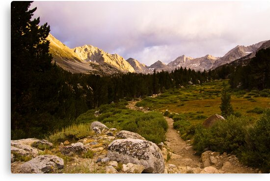Into the Mountains by Justin Mair