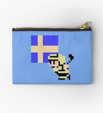 Hockey Player - Sweden Studio Pouch