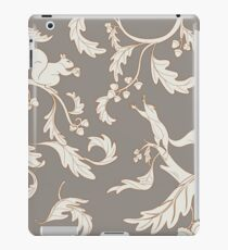 Squirrels and Acorns Taupe iPad Case/Skin
