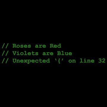 Syntax Error Poem by MillSociety