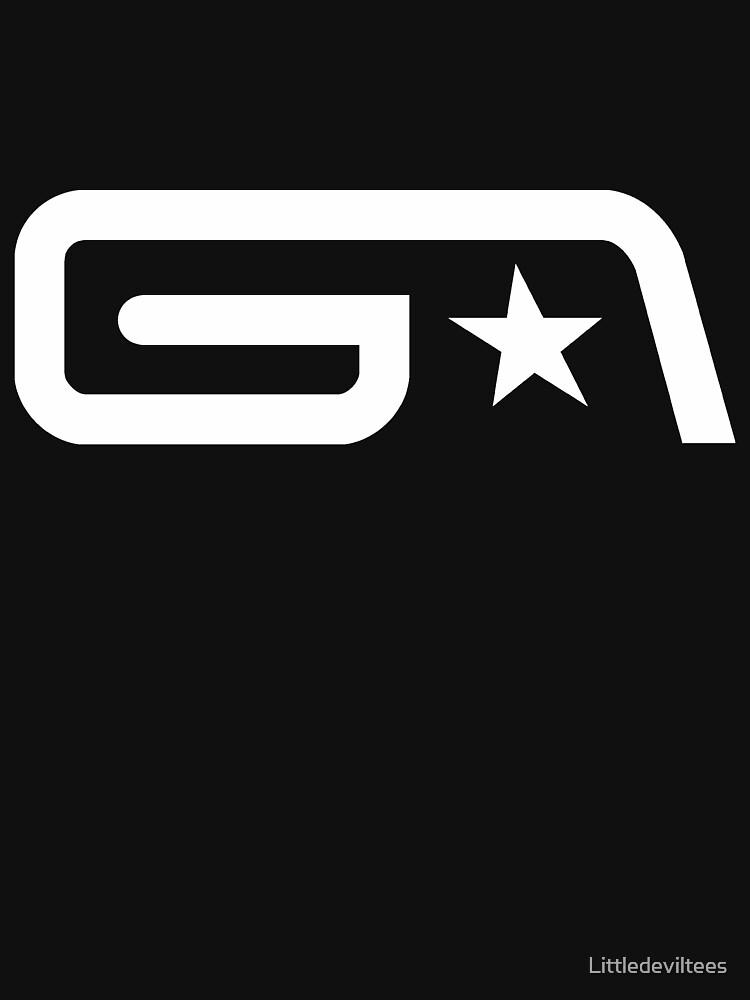 Groove Armada White Logo | Unisex T-Shirt