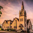 Church in Windsor, Nova Scotia by Scott Ruhs