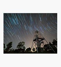 Geminid Meteor Shower Photographic Print