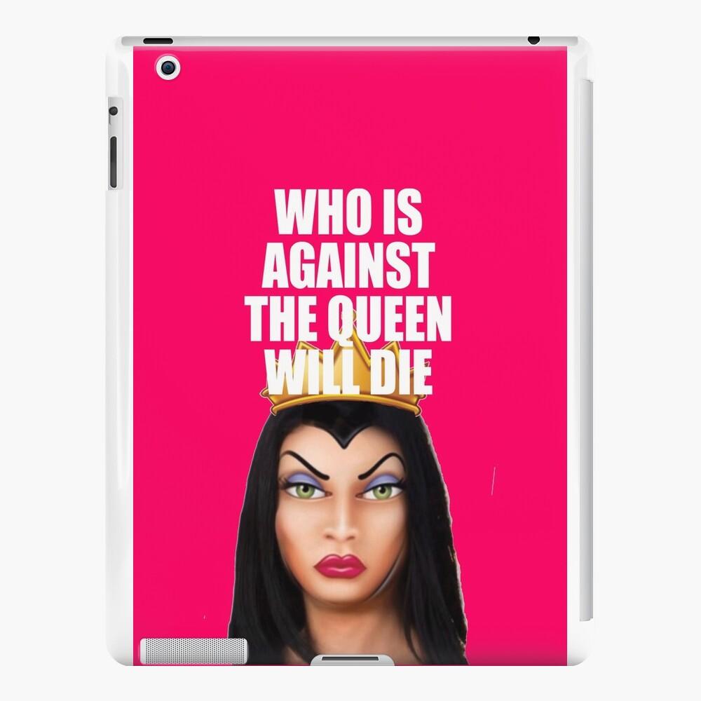 Wer ist gegen die Königin wird sterben! iPad-Hüllen & Klebefolien