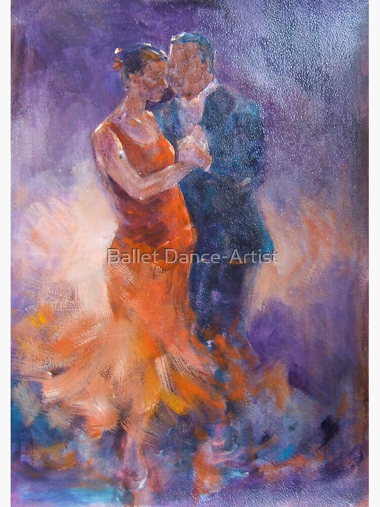 TANGO DANCING COUPLES CANVAS PICTURE PRINT WALL ART FREE FAST UK DELIVERY