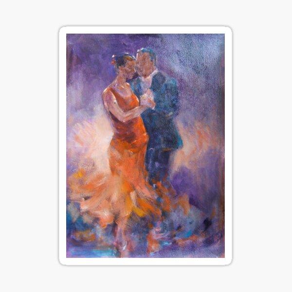 The Tango – Ballet & Dance Art Gallery Sticker