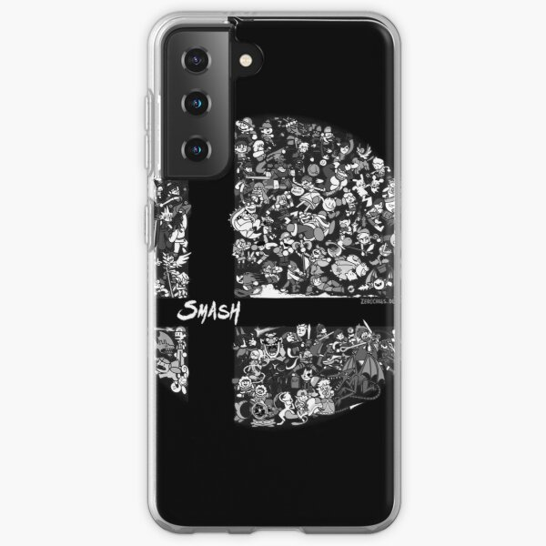 Super Smash Bros. Ultimate (Grayscale) Samsung Galaxy Soft Case