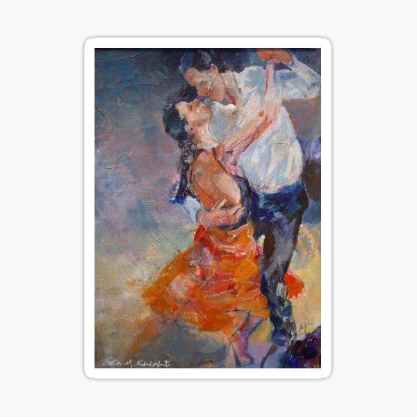 Dancers & Lovers - Dance Art Gallery Sticker