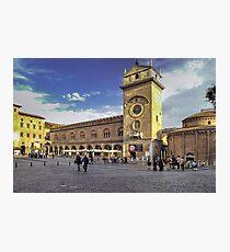 Piazza delle Erbe - Mantova Photographic Print