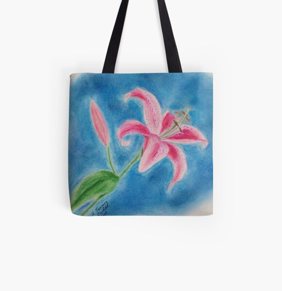 Beauty Agaze All Over Print Tote Bag