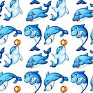 Dolphins 6674 by MelissaNay