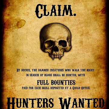 Hunters Wanted by Winneganfake
