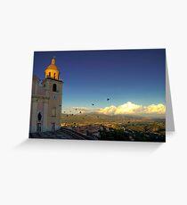 Parish Church of Nostra Signora del Soccorso   Greeting Card
