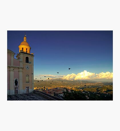 Parish Church of Nostra Signora del Soccorso   Photographic Print