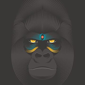 Gorillasaule von PAgata