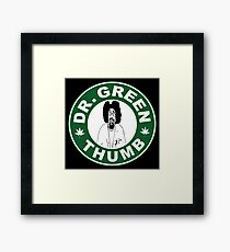 Dr. Green THumb Framed Print